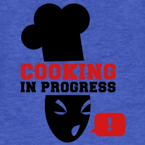 COOKING in PROGRESS!  Sweatshirts - Fitted Cotton/Poly T-Shirt by Next Level