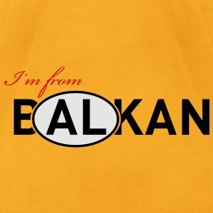 I'm from B(AL)KAN - Men's T-Shirt by American Apparel