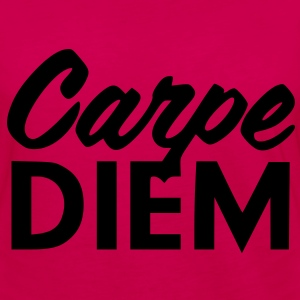 Carpe Diem Hoodies - Women's Premium Long Sleeve T-Shirt