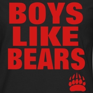BOYS LIKE BEARS T-Shirts - Men's Premium Long Sleeve T-Shirt