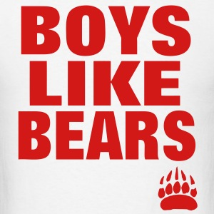 BOYS LIKE BEARS Hoodies - Men's T-Shirt