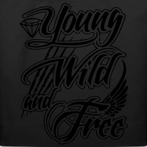 Young, Wild, and Free Zip Hoodies/Jackets - stayflyclothing.com - Eco-Friendly Cotton Tote