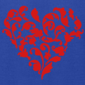 floral heart 1c Tanks - Men's T-Shirt by American Apparel