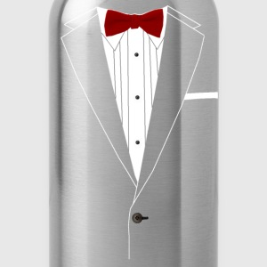 Tuxedo Red Bowtie Kids' Shirts - Water Bottle
