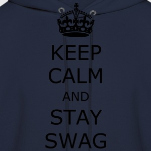 Keep calm and stay swag - Men's Hoodie