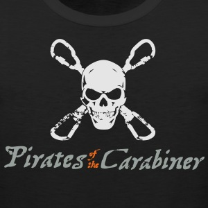 Pirates of the Carabiner (3-color vector) T-Shirts - Men's Premium Tank
