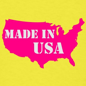 Made in USA baby - Men's T-Shirt