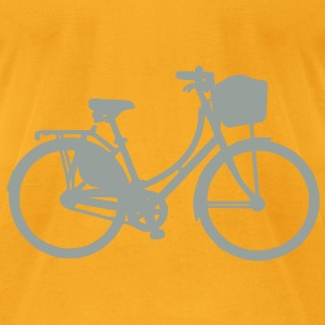 Dutch Bike Bag - Men's T-Shirt by American Apparel