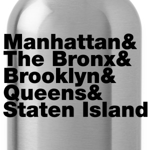 Five Boroughs ~ New York City T-Shirts - Water Bottle