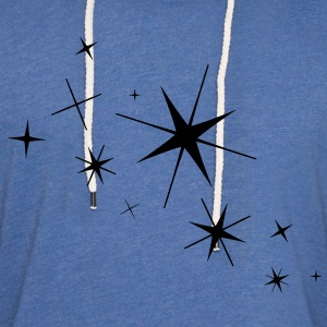 Stars - High Quality Vector T-Shirts - Unisex Lightweight Terry Hoodie