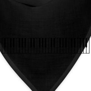 Piano Keys - High Quality Vector T-Shirts - Bandana