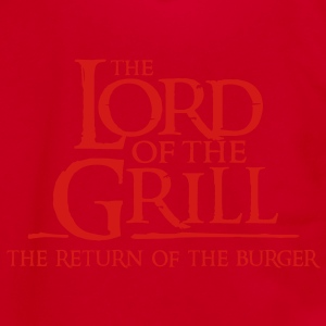 The Lord of the Grill - Unisex Fleece Zip Hoodie by American Apparel
