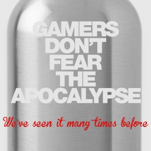 Gamers don't fear the Apocalypse - Water Bottle