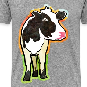 Dairy Cow - Men's Premium T-Shirt