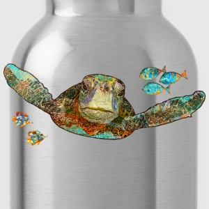 Flying Sea Turtle - Water Bottle