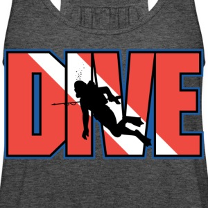 Dive - Women's Flowy Tank Top by Bella