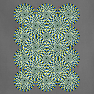 Psychedelic Moving Optical Illusion - Adjustable Apron