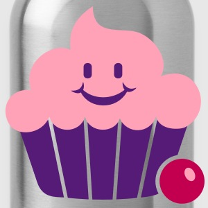 cupcake (3c) Tanks - Water Bottle