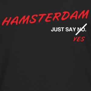 Hamsterdam T-Shirt (Black) - Men's Premium Long Sleeve T-Shirt