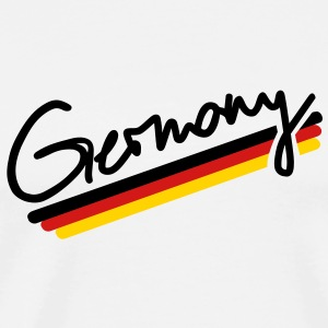 Germany Buttons - Men's Premium T-Shirt