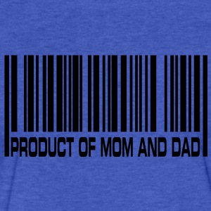 Product of Mom and Dad Sweatshirts - Fitted Cotton/Poly T-Shirt by Next Level