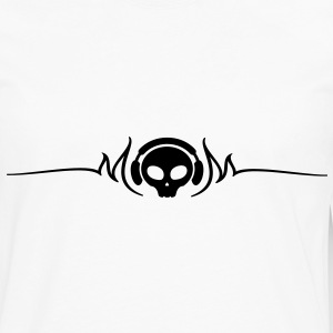 skull, dj Women's T-Shirts - Men's Premium Long Sleeve T-Shirt