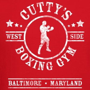 Cutty's Boxing Gym T-Shirt (Eggplant) - Crewneck Sweatshirt