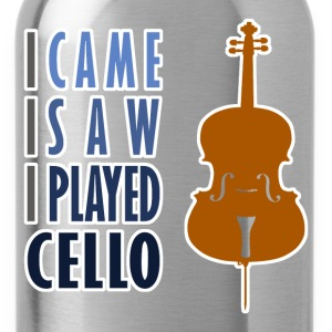 I Played Cello Kid's Long Sleeve T-Shirt - Water Bottle