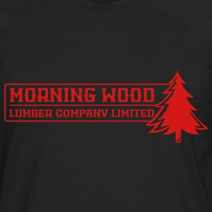 Morning Wood Lumber Company - Men's Premium Long Sleeve T-Shirt