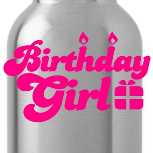 birthday girl new with present Women's T-Shirts - Water Bottle