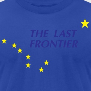 Alaska The Last Frontier Hoodies - Men's T-Shirt by American Apparel