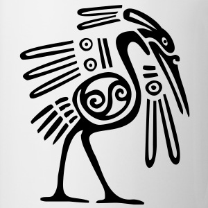Mayan Bird - VECTOR Women's T-Shirts - Coffee/Tea Mug