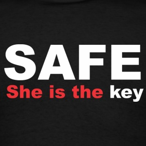 Safe Hoodies - Men's T-Shirt