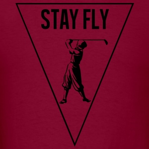 stay_fly_golf Hoodies - Men's T-Shirt