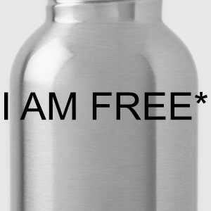 I AM FREE* T-Shirts - Water Bottle