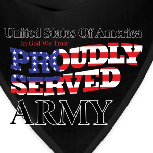 Proudly Served Army - Bandana
