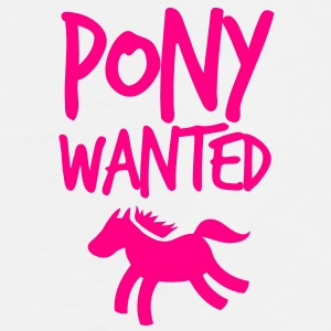pony wanted with type Gift - Men's Premium T-Shirt