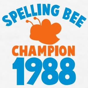 spelling bee champion 1988 super cute college shirt Gift - Men's T-Shirt