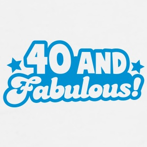 40 and fabulous! Gift - Men's Premium T-Shirt