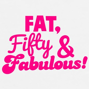 FAT FIFTY and FABULOUS! Gift - Men's Premium T-Shirt