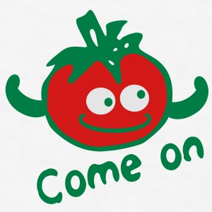 Come on Red tomato funny Coffee/Tea Mug - Men's T-Shirt