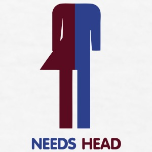 Ladyboy Needs Head - Men's T-Shirt