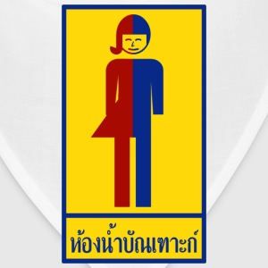 Ladyboy / Tomboy Toilet / Restroom Thai Sign - Bandana