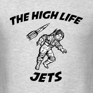The High Life - Jets Long Sleeve Shirts - Men's T-Shirt