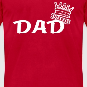 king DAD Long Sleeve Shirts - Men's T-Shirt by American Apparel