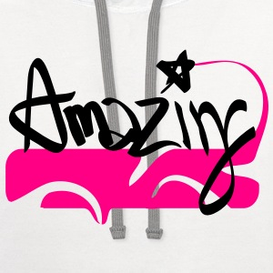 amazing T-Shirts - Contrast Hoodie