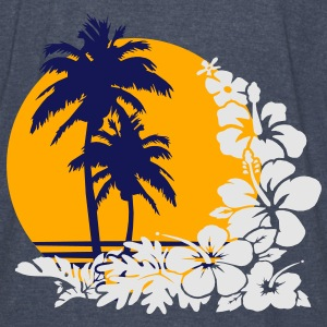palm sunset Hoodies - Vintage Sport T-Shirt
