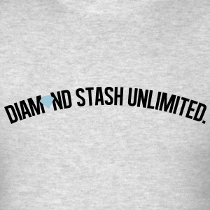 diamond_stash_unlimited_ii Long Sleeve Shirts - Men's T-Shirt