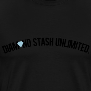 diamond_stash_unlimited_ii Hoodies - Men's Premium T-Shirt