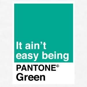 Pantone Green - Men's T-Shirt